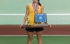 Ava Catanzarite Helps Tennis Team Win States