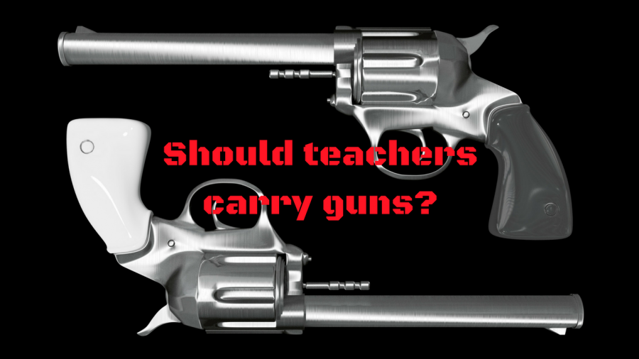 reason why teachers should carry guns in schools Why teachers shouldn't carry guns this morning, the nra proposed that teachers carry lethal weapons to make schools safe learning environments for our children the plan replaces the right to bear.