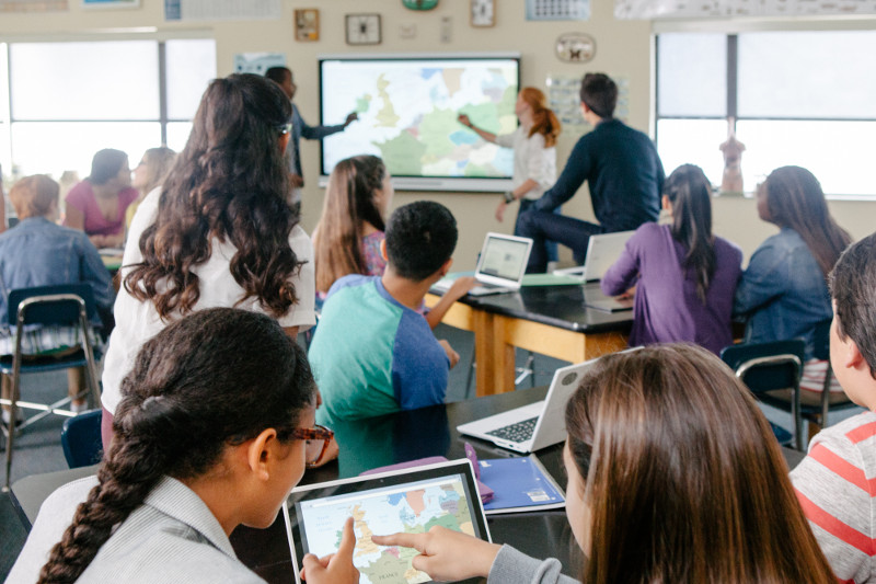 classroom technology learning smart interaction teacher education centered using integration distraction classrooms tech teaching student board types strategies philosophies encourages