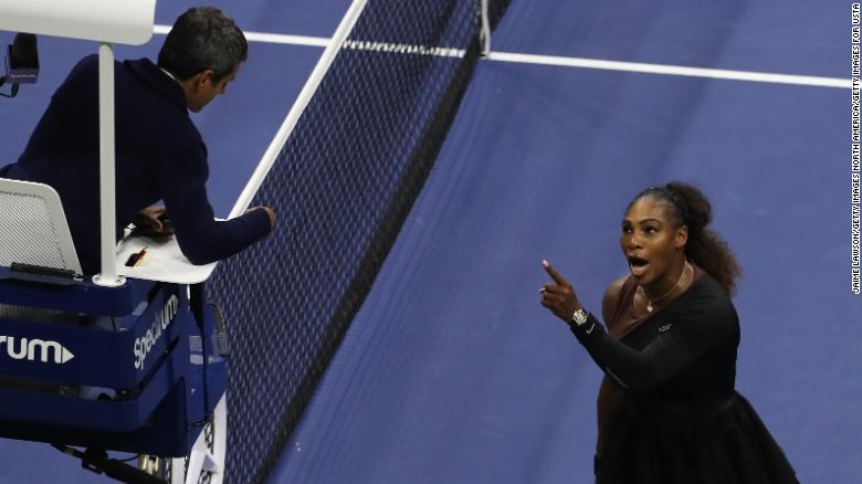 Serena+Williams+arguing+with+umpire+Carlos+Ramos.