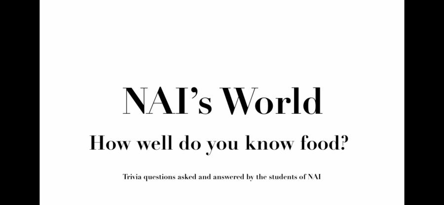 NAI's World: Week 4