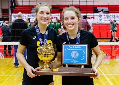 Sister, Sister: Paige and Abby Miller Help Serve Up Two WPIAL Titles
