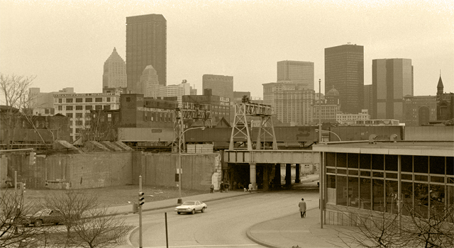 Pittsburgh in the early 70s