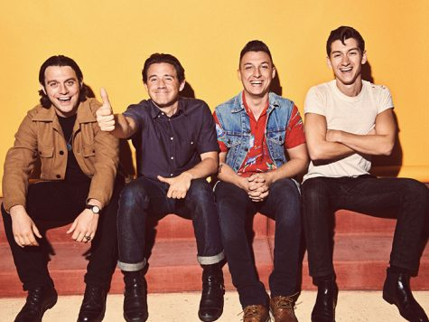 One of the featured artists in the review, Arctic Monkeys