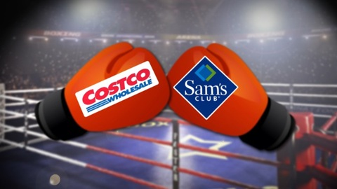 Coscto and Sam's Club in the fight for more customers