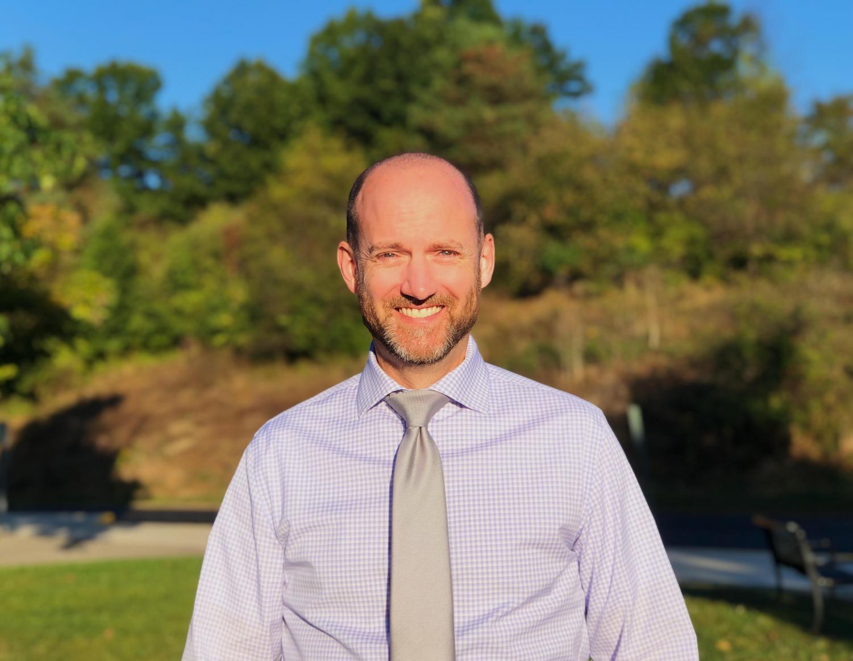 Mr. John Morey, NAI's new assistant principal, brings an agenda of happiness and family
