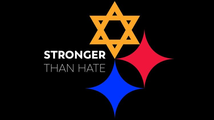 Symbol used for the Pittsburgh Synagogue Shooting. One year later, it has become synonymous with Pittsburghers growing resilience.