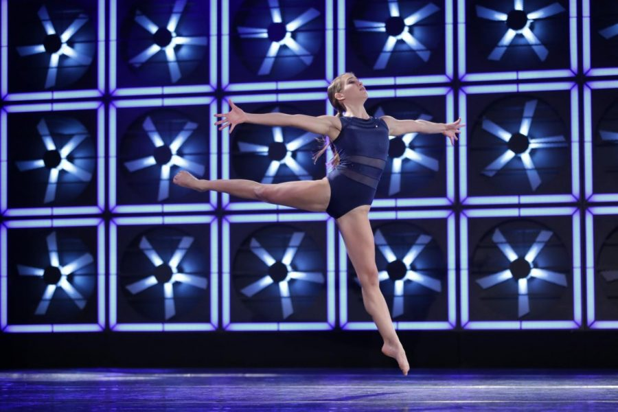 "Bertram performing her solo dance ""Remembrance"" at the 24/7 Competition."