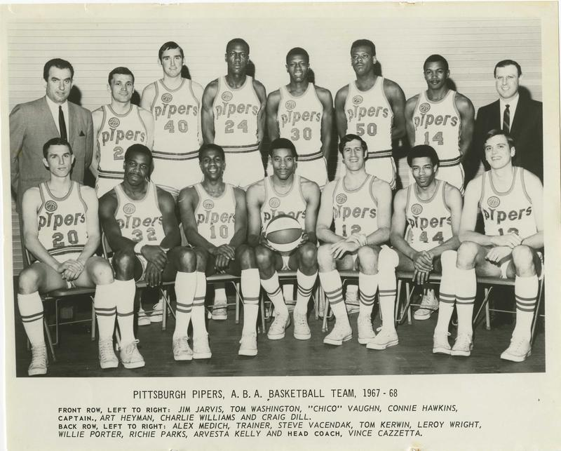 Pittsburgh+Pipers+ABA+basketball+team+1967-68
