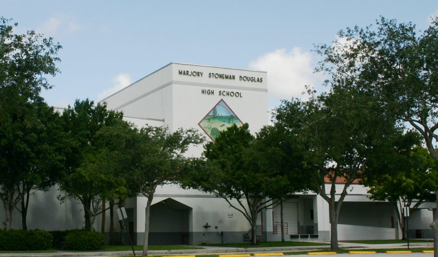 Marjory Stoneman Douglas High School, site of the tragic Valentine's Day shooting.