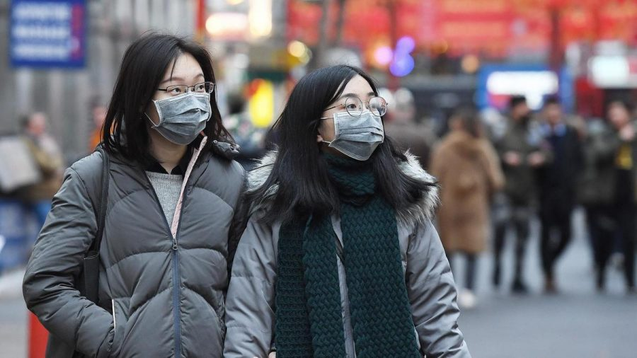 Citizens of China protecting themselves from the virus slowly spreading around the world.