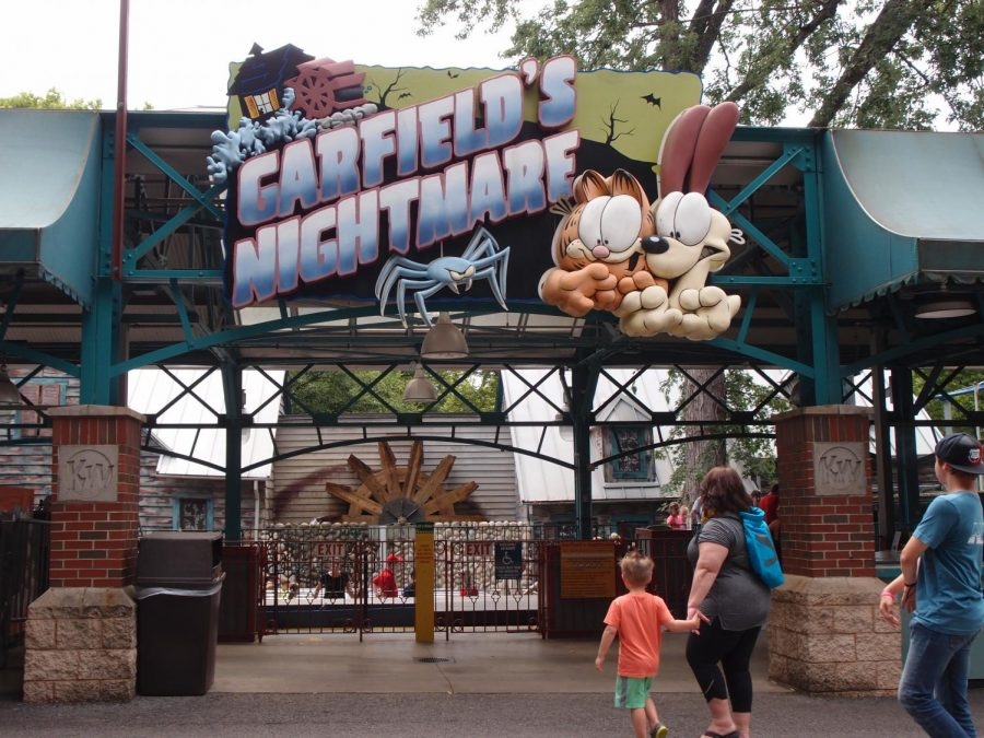 The+exit+to+Garfield%27s+Nightmare+at+Kennywood+Park