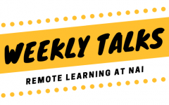Weekly Talks: Beginnings of Remote Learning