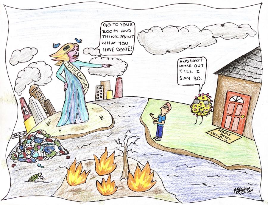 COVID Chronicles: Political Cartoons