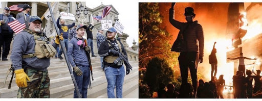 Hypocrisy in America is fueled by division.