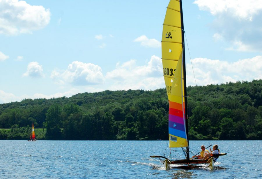 One option at Moraine State Park- Sailing!