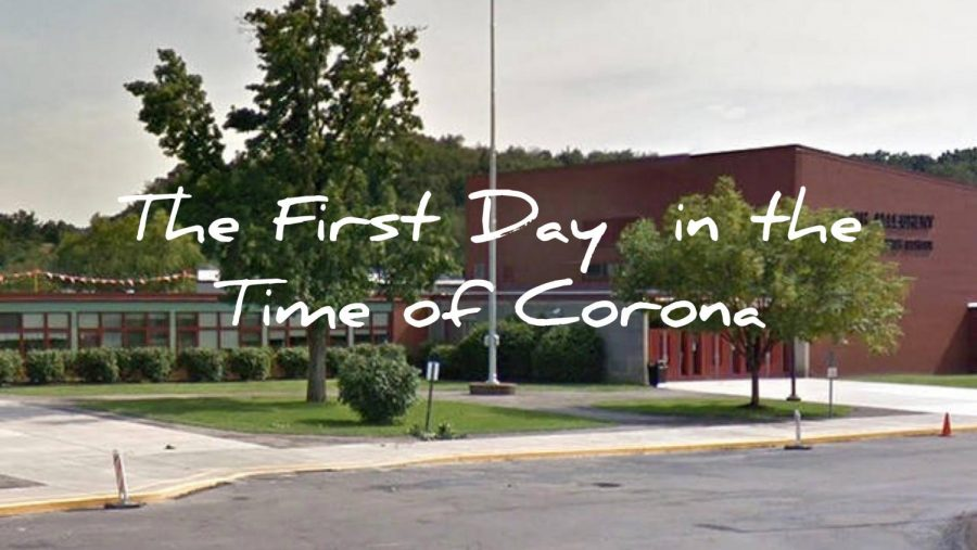 The First Day in the Time of Corona