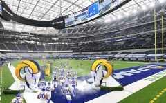 The stands in the brand new Sofi Stadium in Los Angeles were completely empty for the Los Angeles Rams game against the Dallas Cowboys on 9/13