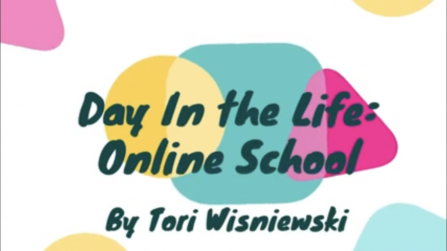 Day In the Life: Online School