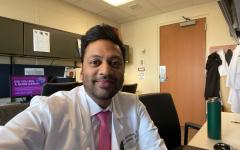 Arun Janakiraman is a healthcare worker at UPMC Presbyterian Hospital.