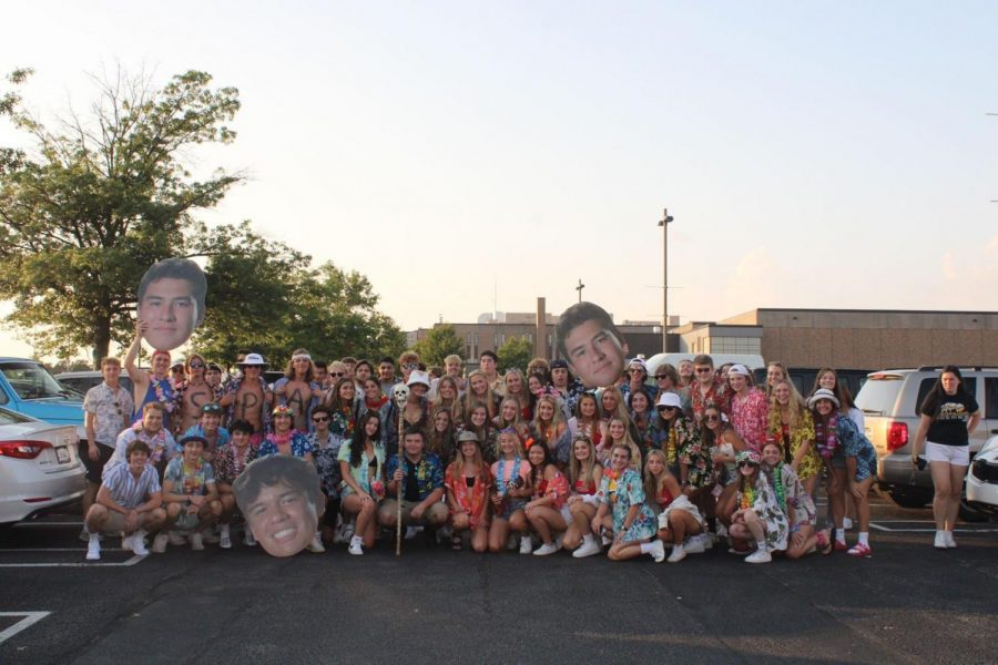 Student Section Themes Always Popular at NA Football Games